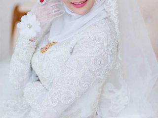 مدل لباس عروس محجبه – شماره ۱
